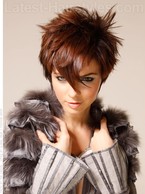 sassy-spikey-brunette-style-with-shine.