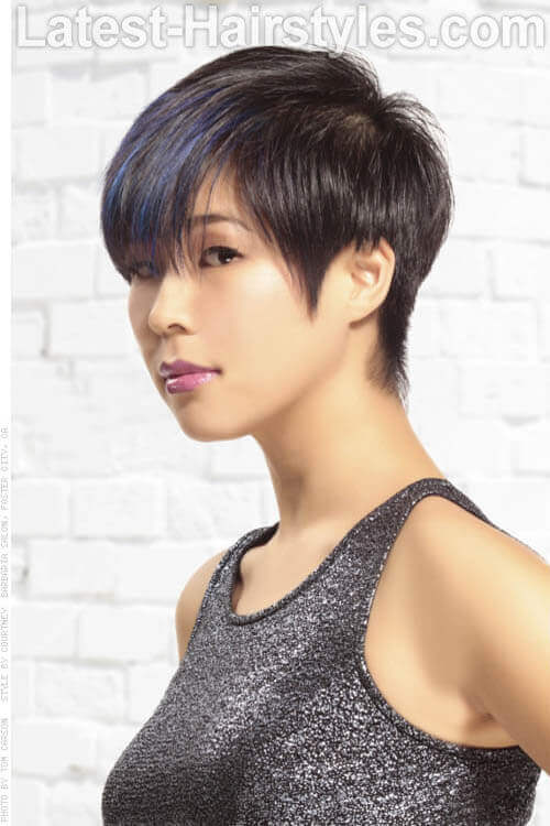 Short-Hairstyle-with- Layers-and-Bangs-S