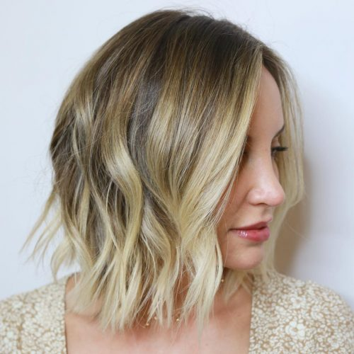 sun-kissed-blonde-ombre-for-choppy- hair