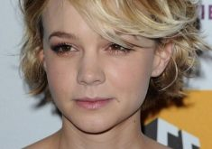 Carey Mulligan Kurze Frisuren für welliges Hai
